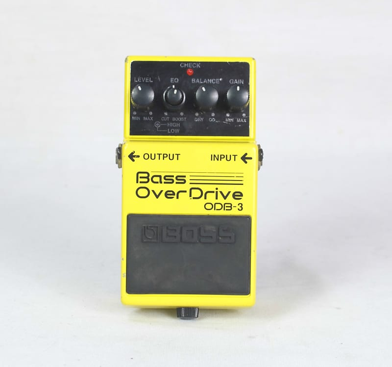 boss odb 3 bass overdrive effects pedal reverb. Black Bedroom Furniture Sets. Home Design Ideas