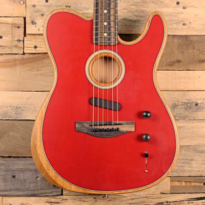 Fender American Acoustasonic Telecaster (2021, Crimson Red)