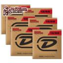 6 Sets! Dunlop Acoustic 80/20 Guitar Strings 13-56, DAB1356