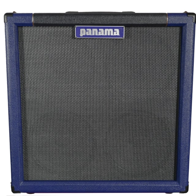 Panama Guitars Professional Series 4x10 Guitar Cab 2017 Navy/Graphite  w/Big Ben 10 Drivers image