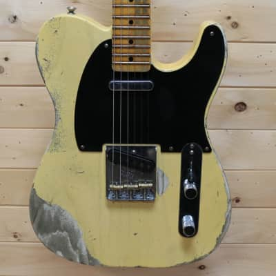 Fender Custom Shop '51 Heavy Relic Nocaster - Faded Nocaster Blonde for sale