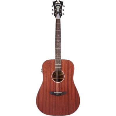 D'Angelico Premier Lexington LS Natural Mahogany Electro-Acoustic Guitar for sale