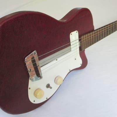 Vintage 1954 Silvertone Danelectro 1 Pickup Guitar Model 1375 First Year! for sale