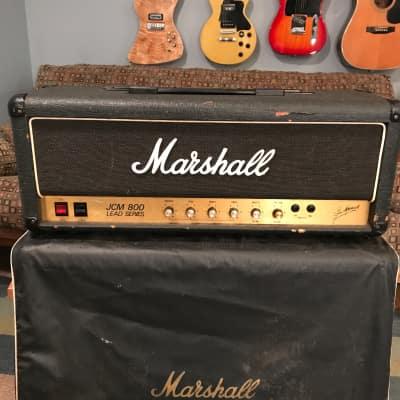 Marshall JCM 800 Lead Series Model 2203 100-Watt Master Volume Head 1984