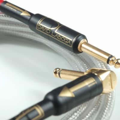 10ft David Laboga / High End Instrument Cables / Perfection Gold / Best cable for all kinds of elect