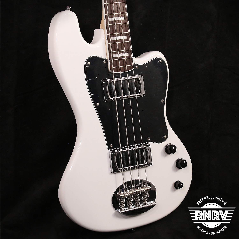 Lakland Skyline Decade 4 Offset Bass - White