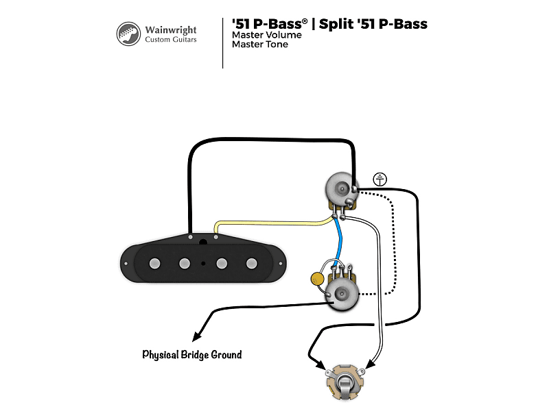Precision Bass Wiring Diagram from images.reverb.com