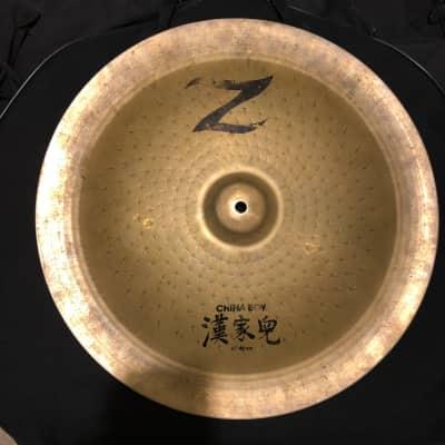 """Zildjian 18"""" Z Custom China Cymbal 1993 - 2001"""