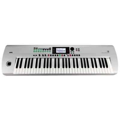 KORG i3 Music Workstation - Matte Silver