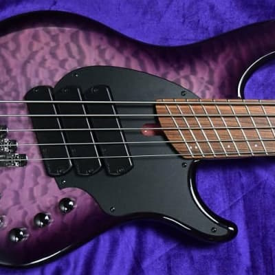 Dingwall Combustion (5-String), Ultra Violet / Pau Ferro / 3 Pickups. *Factory Cosmetic Flaw = Save $