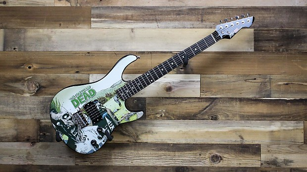 peavey walking dead rockmaster electric guitar reverb. Black Bedroom Furniture Sets. Home Design Ideas