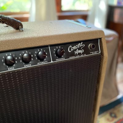 """Demo Video"" Vintage 1960 Fender Brownface Concert Amp"