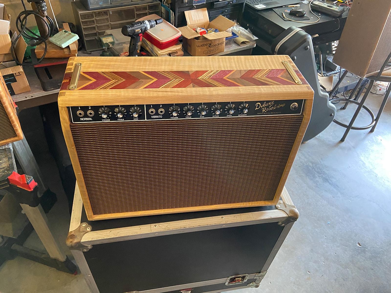 Customized Fender Deluxe Reverb