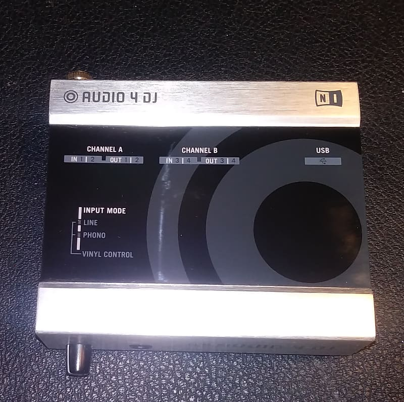 native instruments audio 4 dj 4 input 4 output usb audio reverb. Black Bedroom Furniture Sets. Home Design Ideas