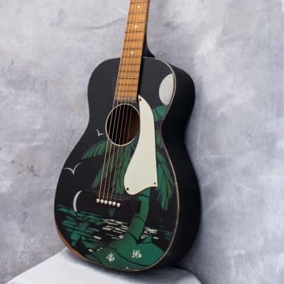 Hawaiian Club Painted Parlour Acoustic c1938 for sale