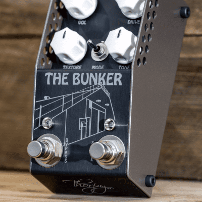 ThorpyFX The Bunker 2020 Lovetone Brown Source Distortion / Fuzz Pedal