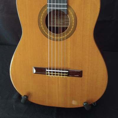 1981 Thomas Knatt La Gitana CSA Rosewood Cedar Top Classical Guitar for sale
