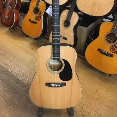 Ashbury Dreadnought Acoustic Guitar - as new, with nice case for sale