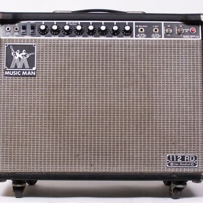 "Music Man 112 RD One Hundred 100-Watt 1x12"" Guitar Combo with Distortion 1978 - 1984"