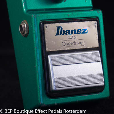 Ibanez OD-9 Overdrive 1982 Black Label s/n 262598 Japan