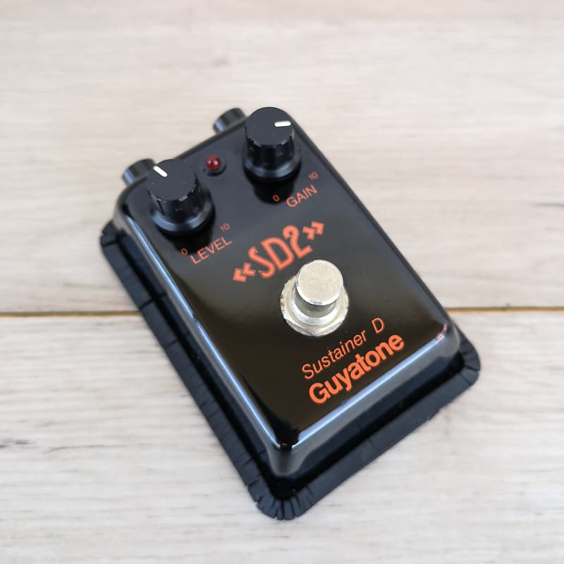 guyatone sustainer d sd2 guitar effects fuzz pedal big muff reverb. Black Bedroom Furniture Sets. Home Design Ideas