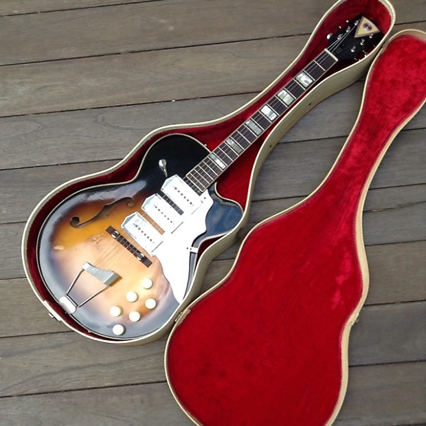 Kay Swingmaster Circa '63 3-Pickup, SUPERCYBER SALE! | Reverb on