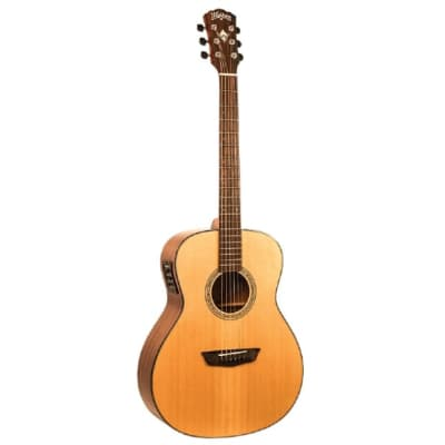Washburn Woodline Solid Wood Acoustic Electric Guitar for sale