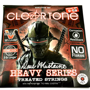 Cleartone 29420 Dave Mustaine Signature Heavy Series Strings - Studio Set (9-52)