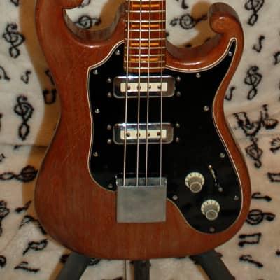 G. L. Stiles  Short Scale Electric Bass Guitar 1965 Mahogany