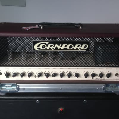 Cornford Cornford MK50H II with 4x12 cab and roadcases for sale