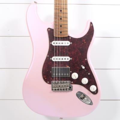 LsL Instruments Saticoy One B HSS Guitar - Satin Pink for sale