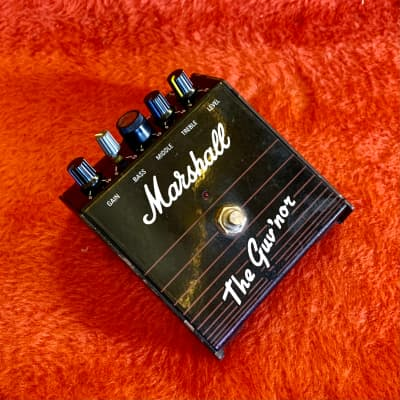 Marshall The Guv'nor distortion pedal original vintage mij japan overdrive