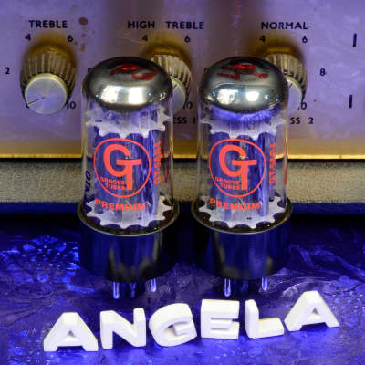 Real Matched Pair Groove Tubes Russian GT-5AR4 GZ34 5AR4 Rectifier Tubes New Free Shipping!
