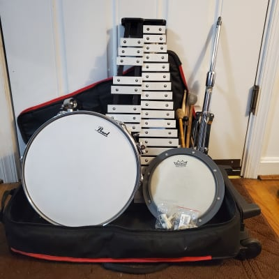 Ludwig LE2482R Drum/Bells Combo Kit