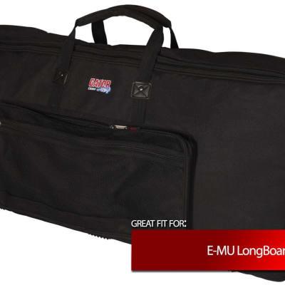 Gator Slim Keyboard Gig Bag for E-MU LongBoard 61