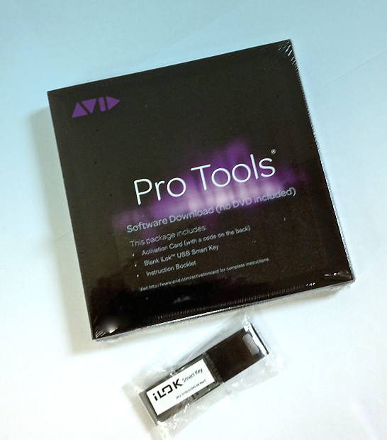 Avid Pro Tools 11 / ProTools 10 w/ FREE upgrade to 12 -Full Version  Activation Card+Ilok 2