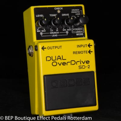 Boss SD-2 Dual Overdrive 1995 s/n CI04557