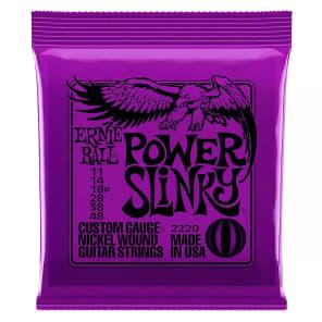 Ernie Ball 2220 Power Slinky Electric Guitar Strings, .011 - .048