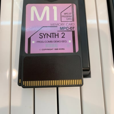 Korg M1 Synth 2 MPC-07 card 1990's
