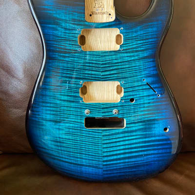 Warmoth Strat 2010s Aqua Marine Dye for sale