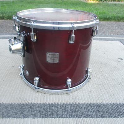 Yamaha Birch Custom Absolute Nouveau 14 X 12 Floor Tom, Japan Made, Lacquer Finish -- Excellent!