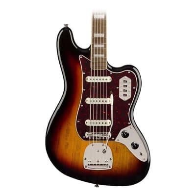 Squier by Fender Classic Vibe Bass VI - Laurel - 3-Color Sunburst