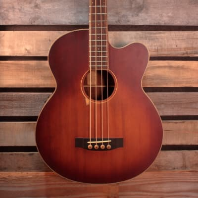 Morgan Monroe MVAB500C Acoustic/Electric Bass with Hardshell Case for sale