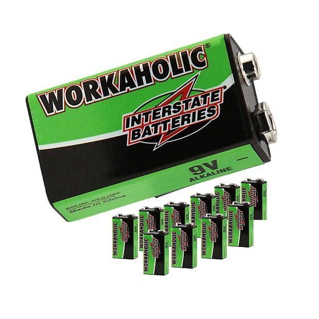 12 pack 9 volt batteries interstate battery workaholic for reverb. Black Bedroom Furniture Sets. Home Design Ideas