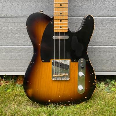 Fender Custom Shop Greg Fessler Masterbuilt Heavy Relic Nocaster Chocolate Sunburst 2008