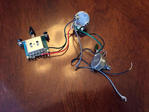 Ibanez Wiring Harness Pots 3Way Switch Tone Cap – Ibanez Wiring Harness