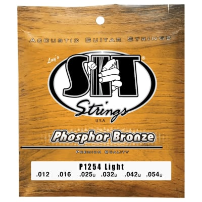 SIT Strings P1254 Light Phosphor Bronze Acoustic .012-.054 for sale