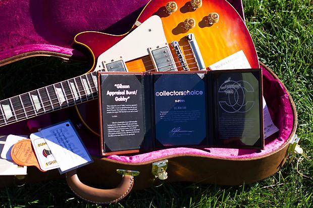 Gibson Les Paul CC#30 Gabby Appraisal Burst 2014 Burst R9