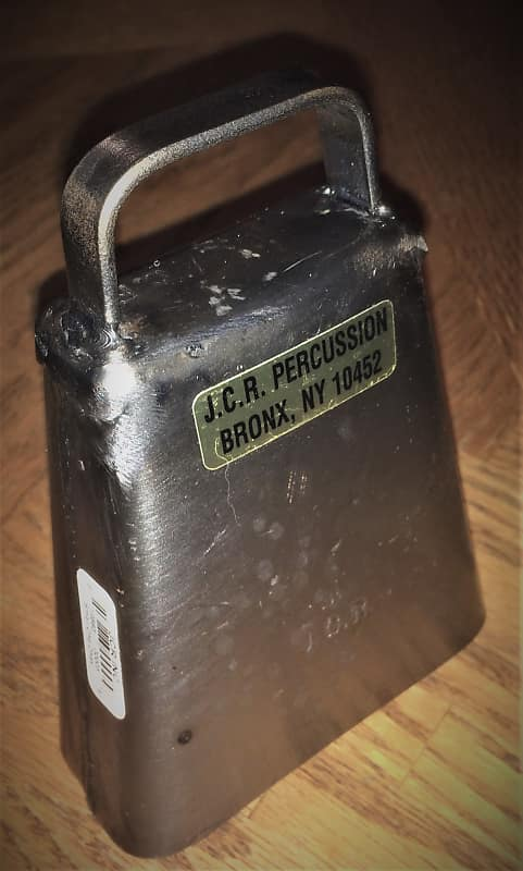 JCR Percussion Small Cha Cha CowBell for sale    great tone from the  Cadillac of Cowbells!