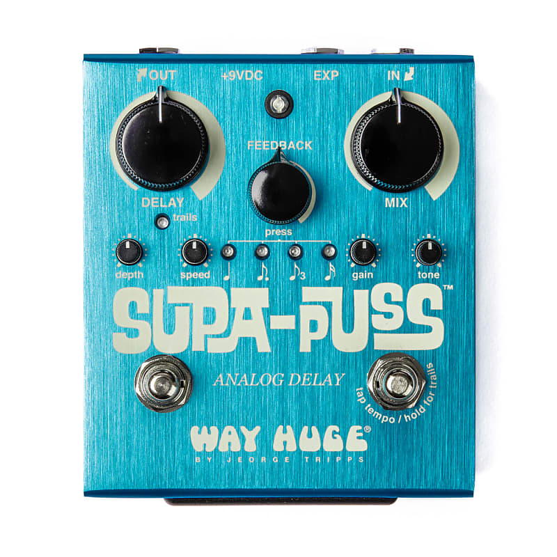 Way Huge WHE707 Supa-Puss Analog Delay Effects Pedal
